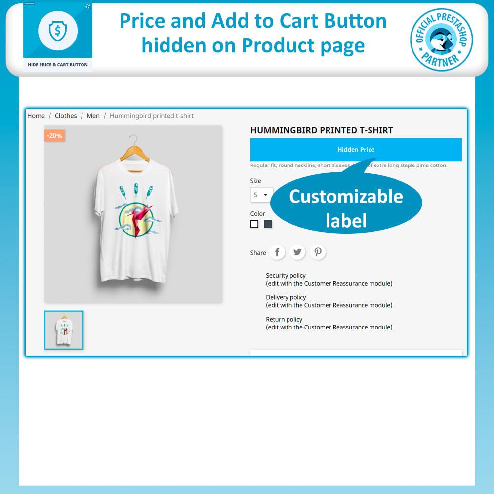 module - Gestione Prezzi - Hide Price & Hide Add to Cart Button - 3