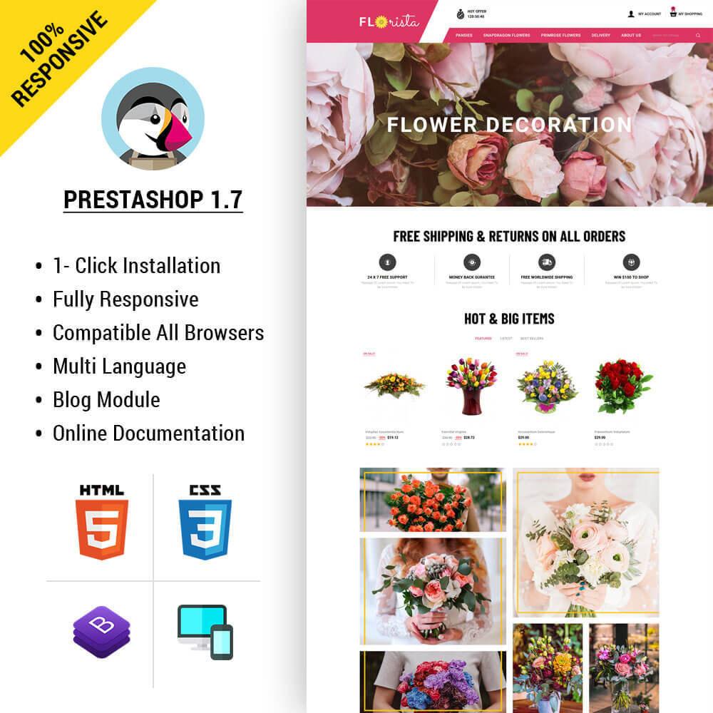 theme - Regalos, Flores y Celebraciones - Florista - Flower Store - 1