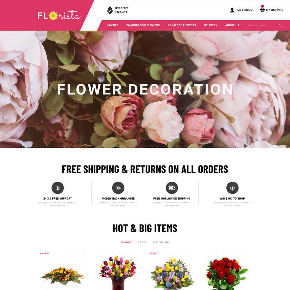 theme - Regalos, Flores y Celebraciones - Florista - Flower Store - 2