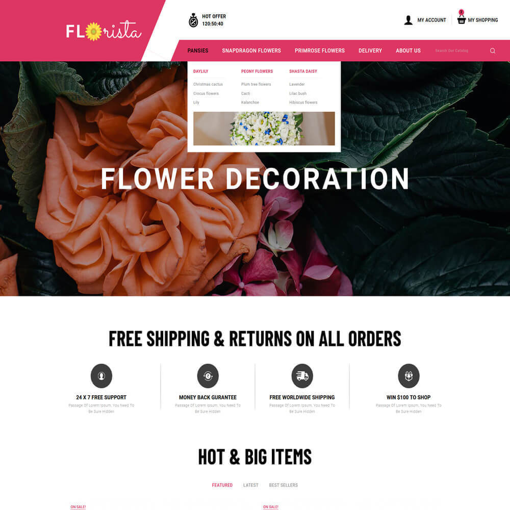 theme - Regalos, Flores y Celebraciones - Florista - Flower Store - 3