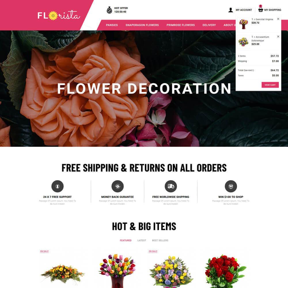 theme - Regalos, Flores y Celebraciones - Florista - Flower Store - 4