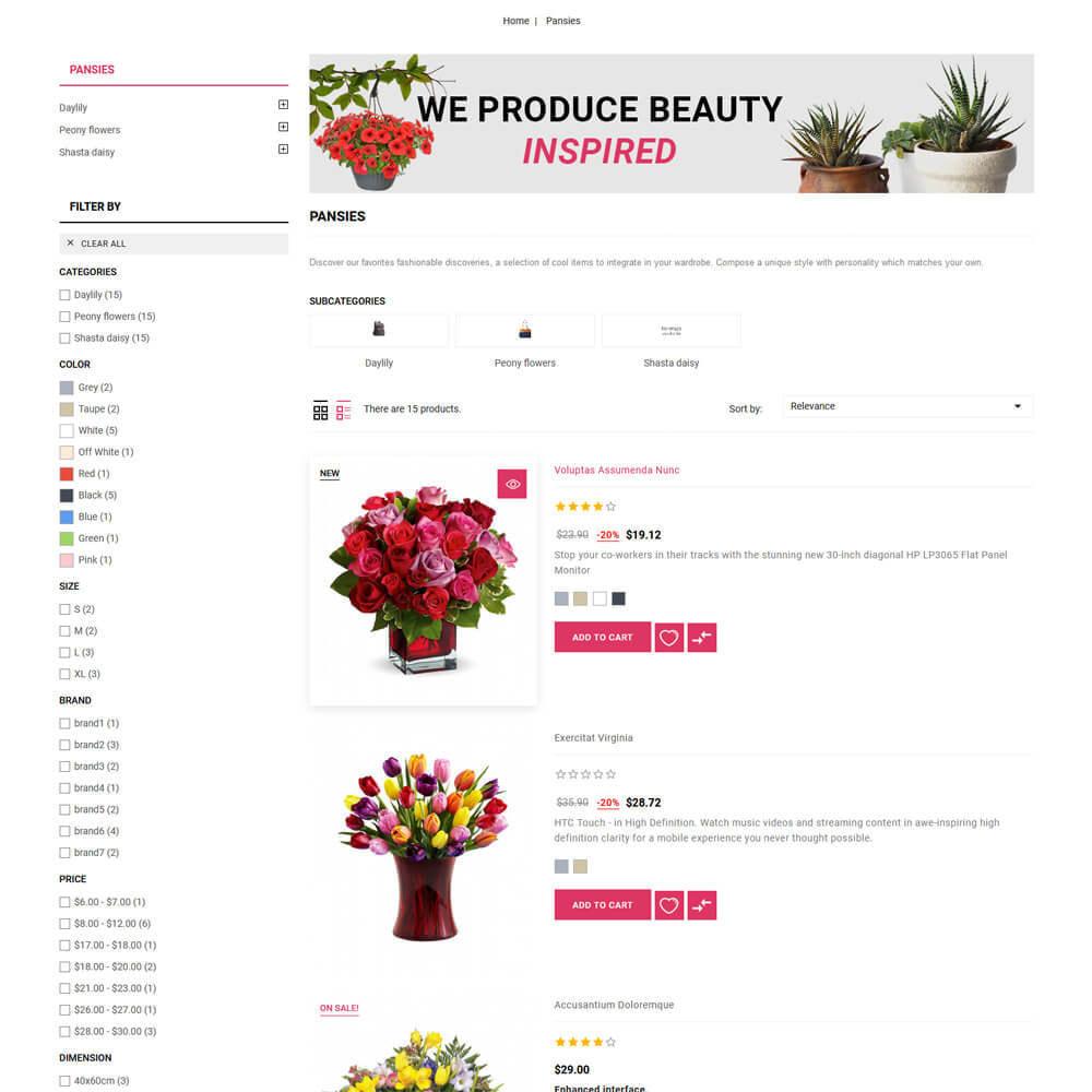 theme - Regalos, Flores y Celebraciones - Florista - Flower Store - 6