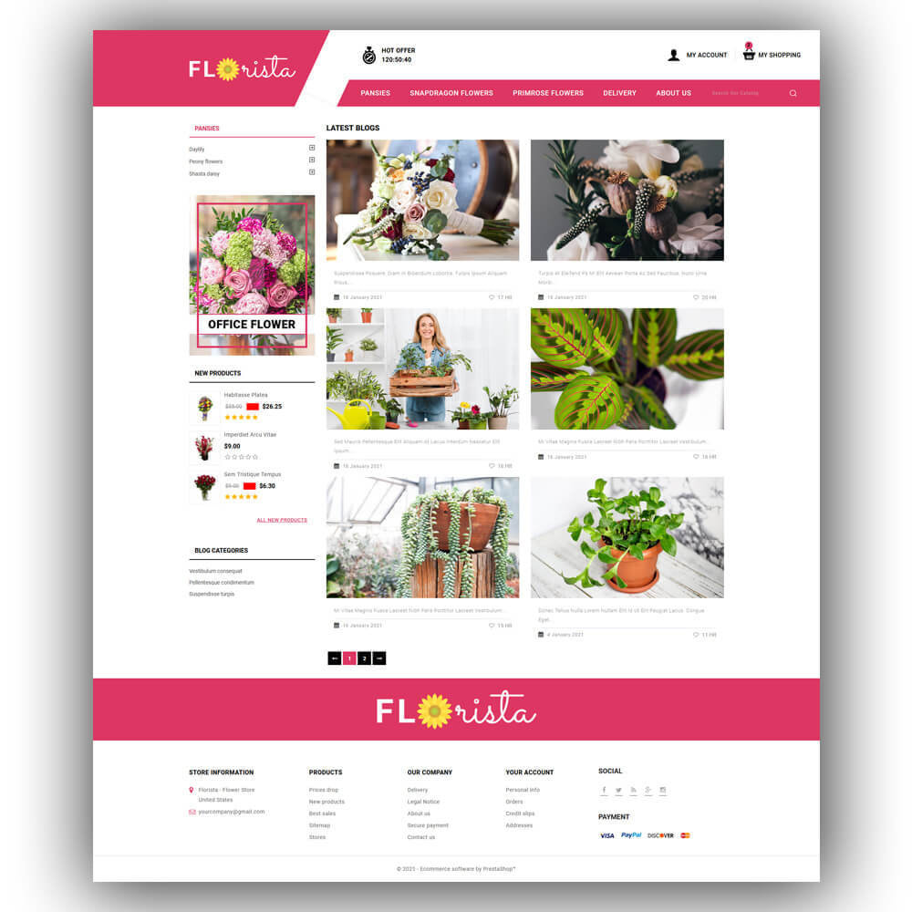 theme - Regalos, Flores y Celebraciones - Florista - Flower Store - 8
