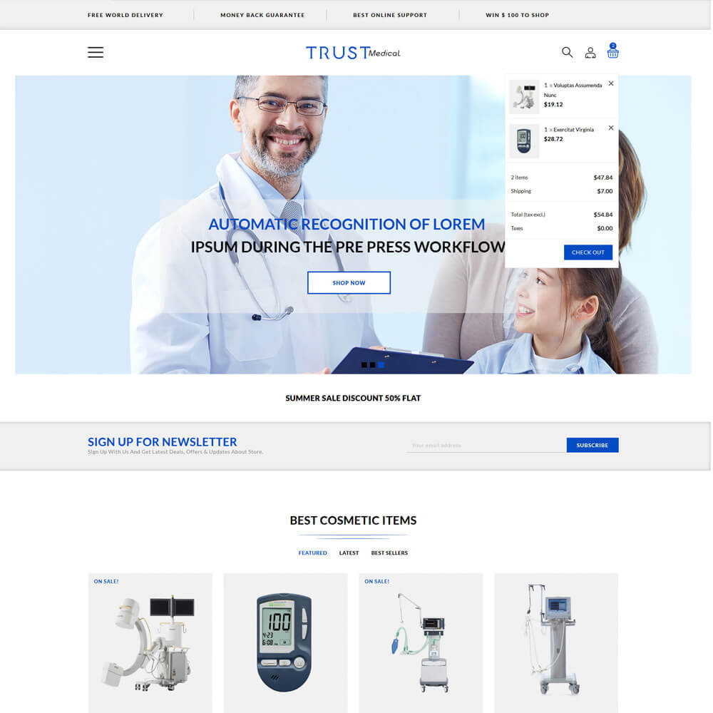 theme - Health & Beauty - Trust - Medical Store - 4