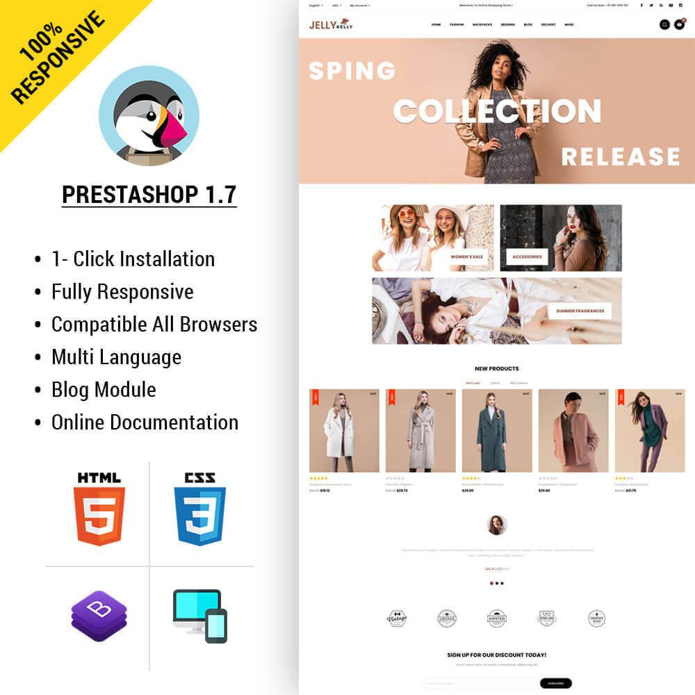 theme - Moda & Calçados - Jellkelly - Fashion Store - 1