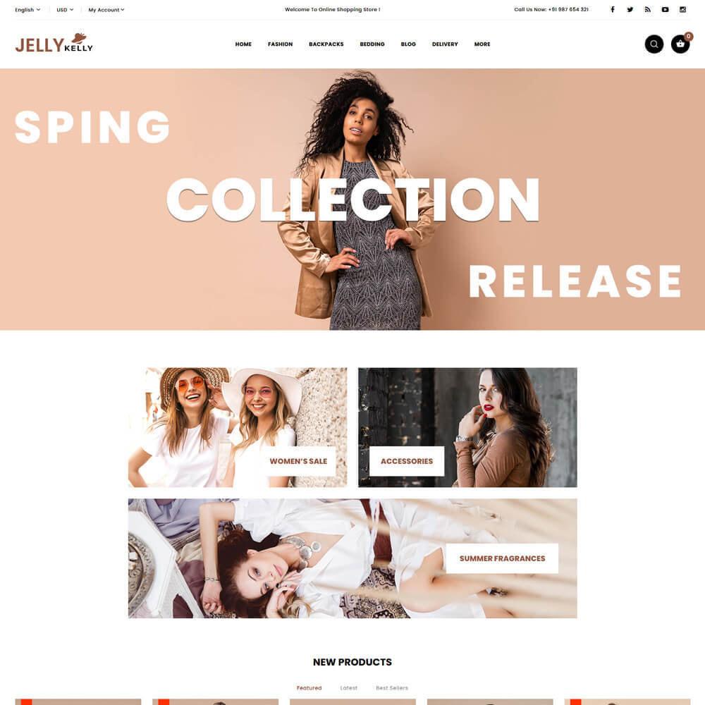 theme - Moda & Calçados - Jellkelly - Fashion Store - 2