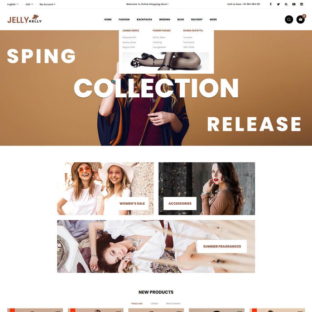 theme - Moda & Calçados - Jellkelly - Fashion Store - 3