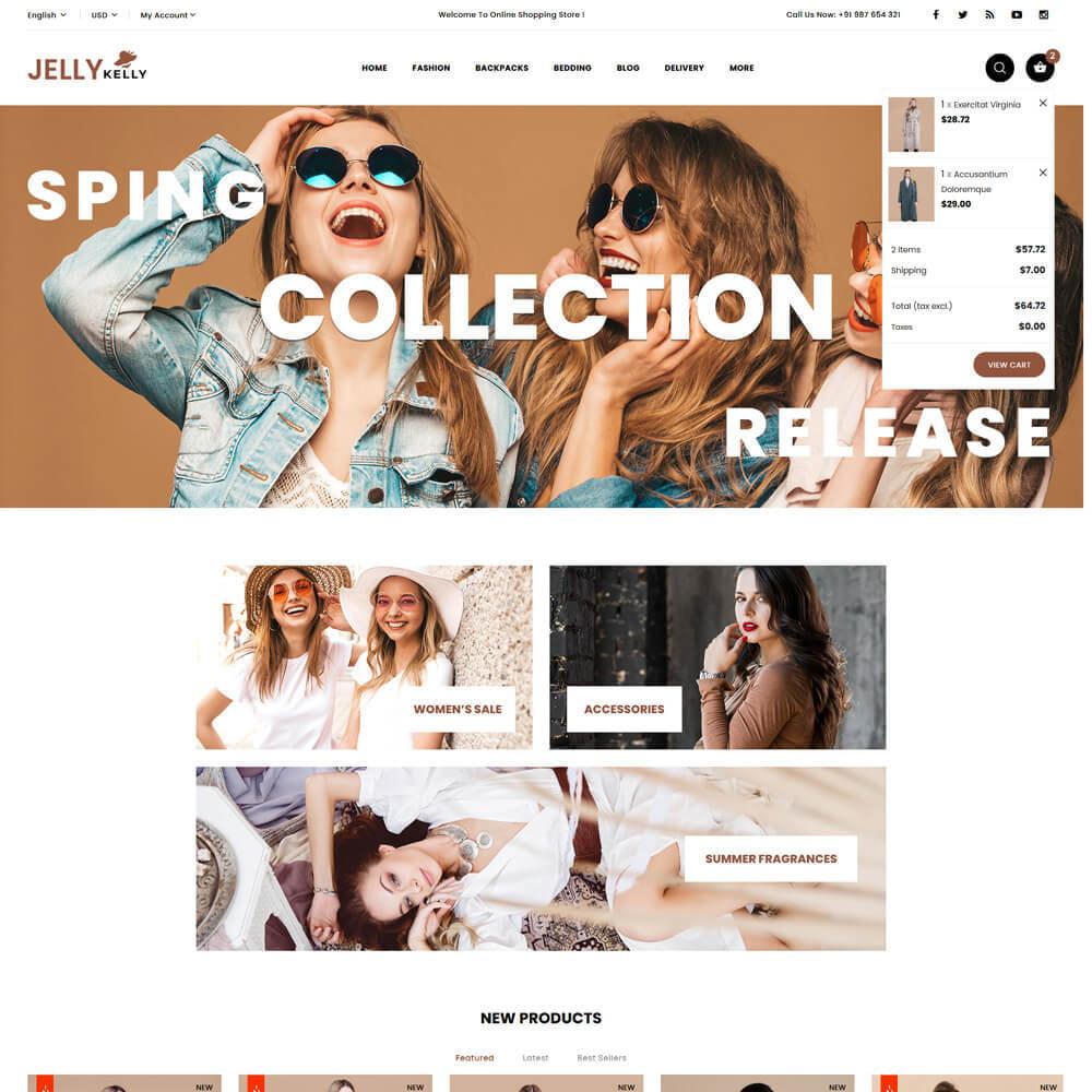 theme - Moda & Calçados - Jellkelly - Fashion Store - 4