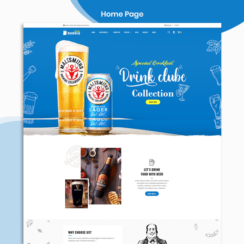 theme - Drink & Wine - Beebelly Wine and Beer - Liquor Store - 2