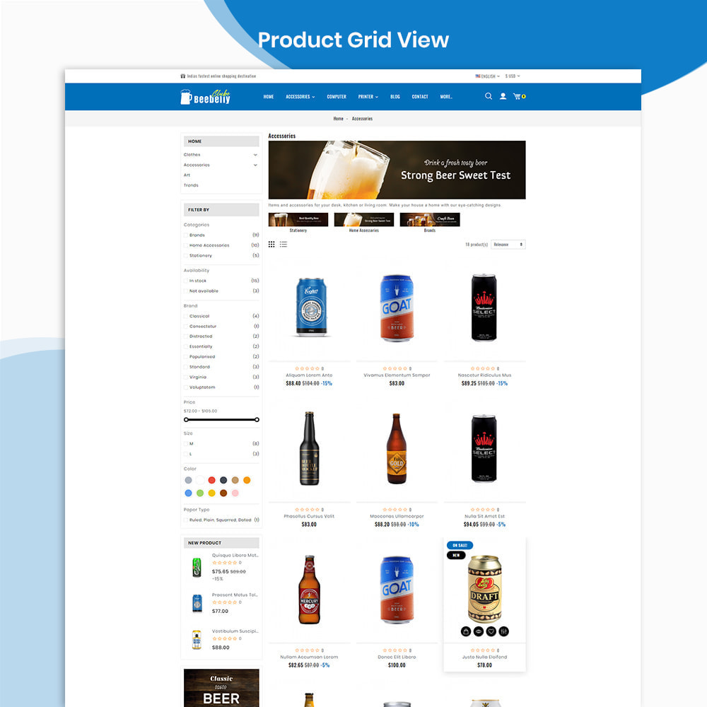 theme - Drink & Wine - Beebelly Wine and Beer - Liquor Store - 3