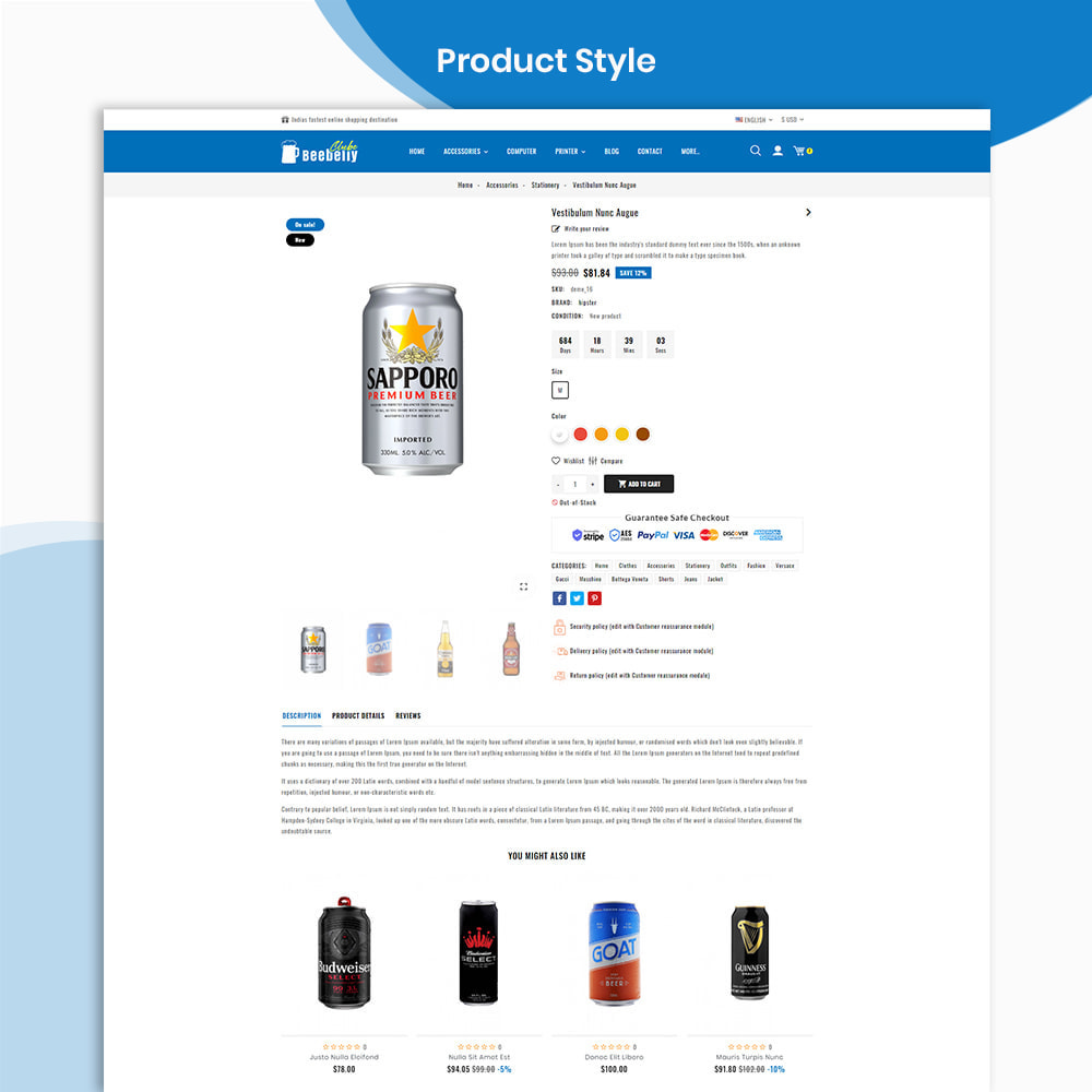 theme - Drink & Wine - Beebelly Wine and Beer - Liquor Store - 4