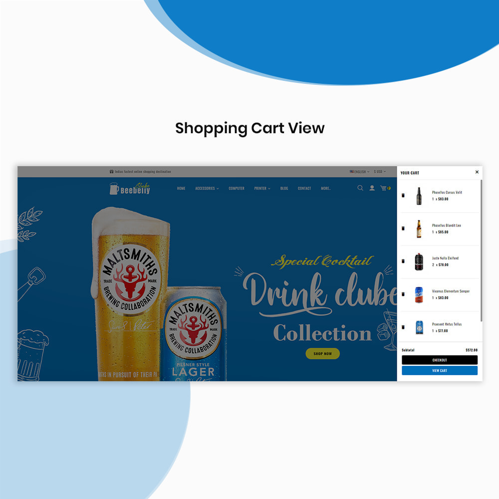 theme - Drink & Wine - Beebelly Wine and Beer - Liquor Store - 7