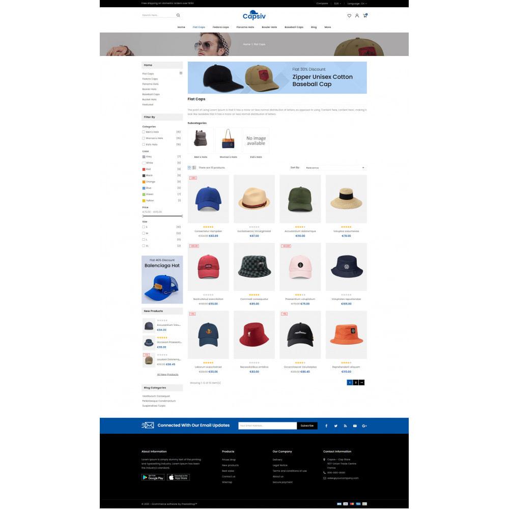 theme - Fashion & Shoes - Capsiv - Caps & Hats Store - 3