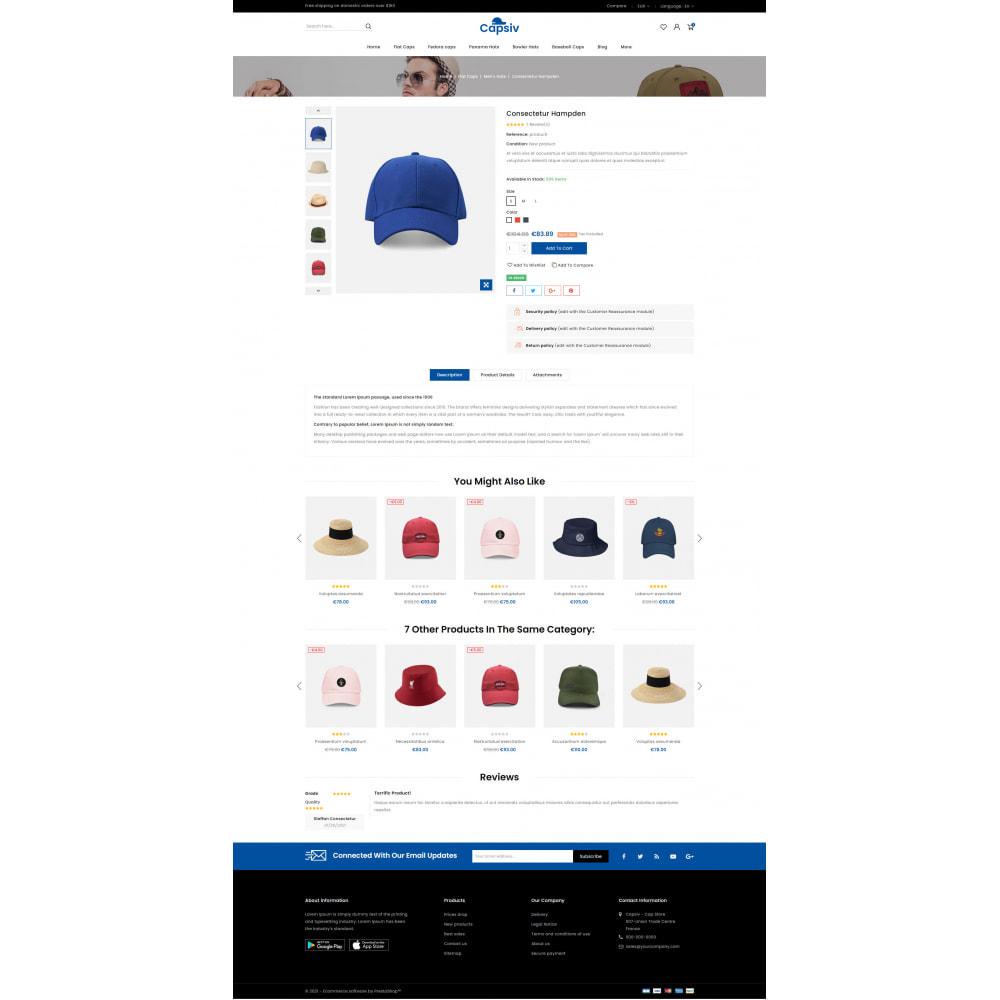 theme - Fashion & Shoes - Capsiv - Caps & Hats Store - 5
