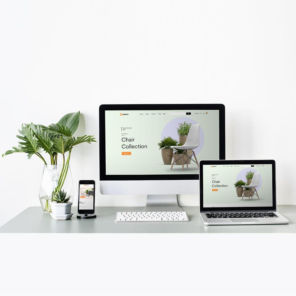 theme - Heim & Garten - Davici - Elementor Furniture & Interior - 3