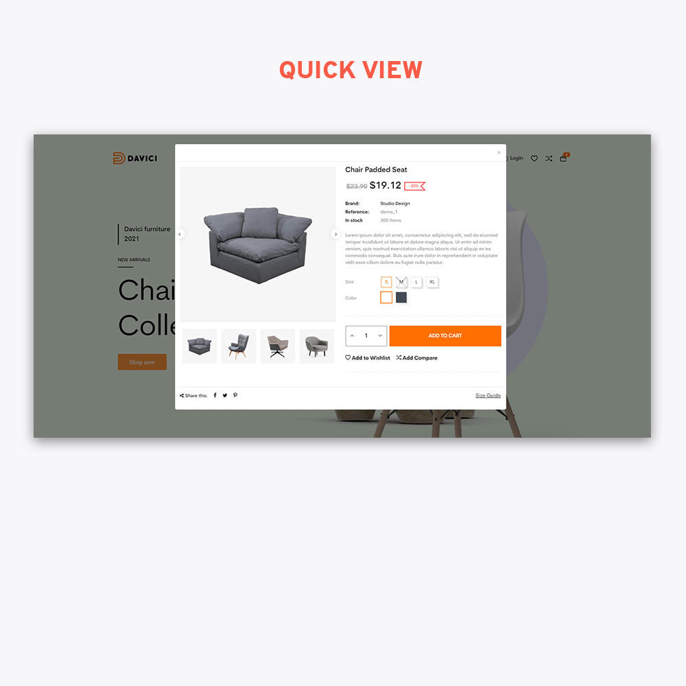 theme - Heim & Garten - Davici - Elementor Furniture & Interior - 8