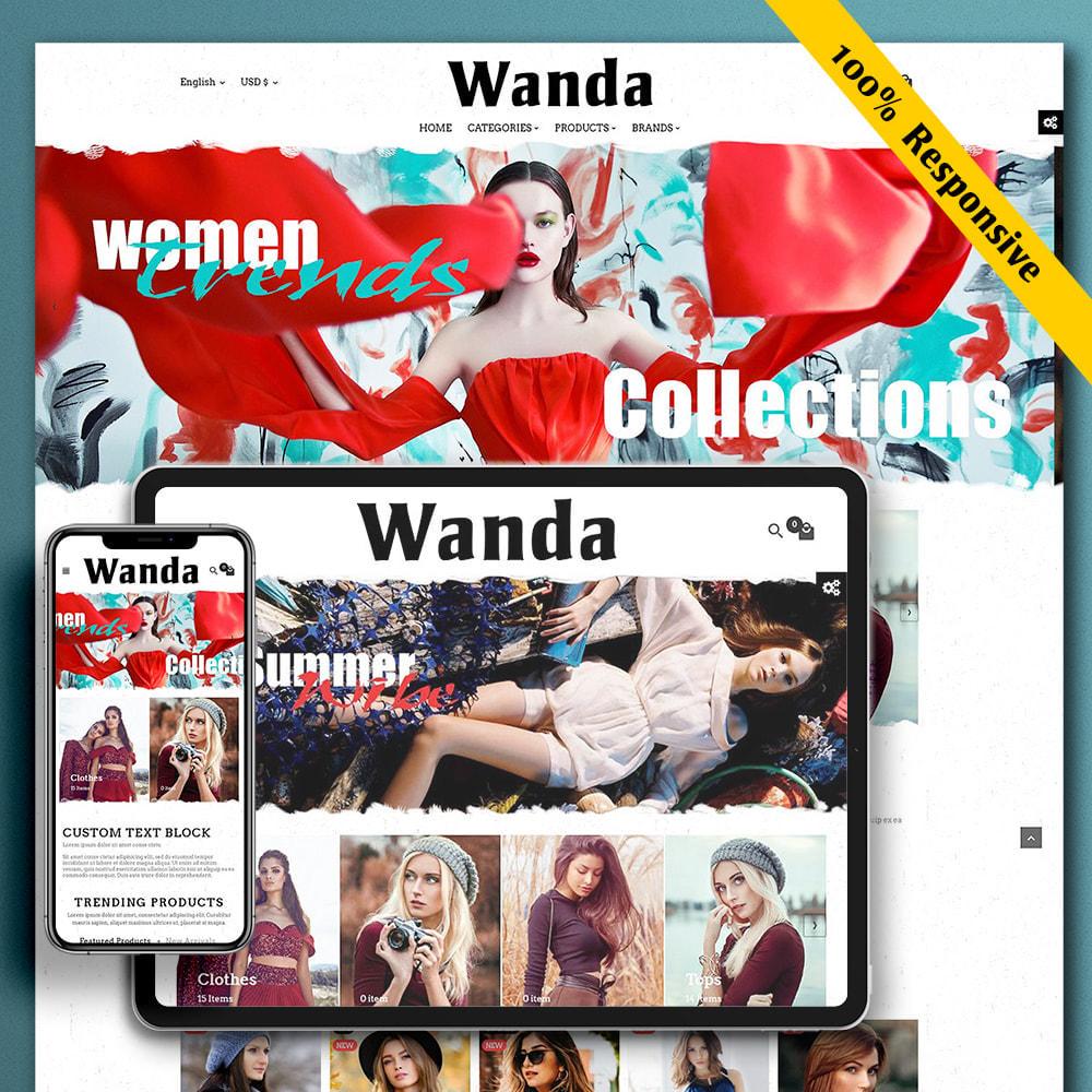 theme - Fashion & Shoes - Wanda Fashion Store - 1