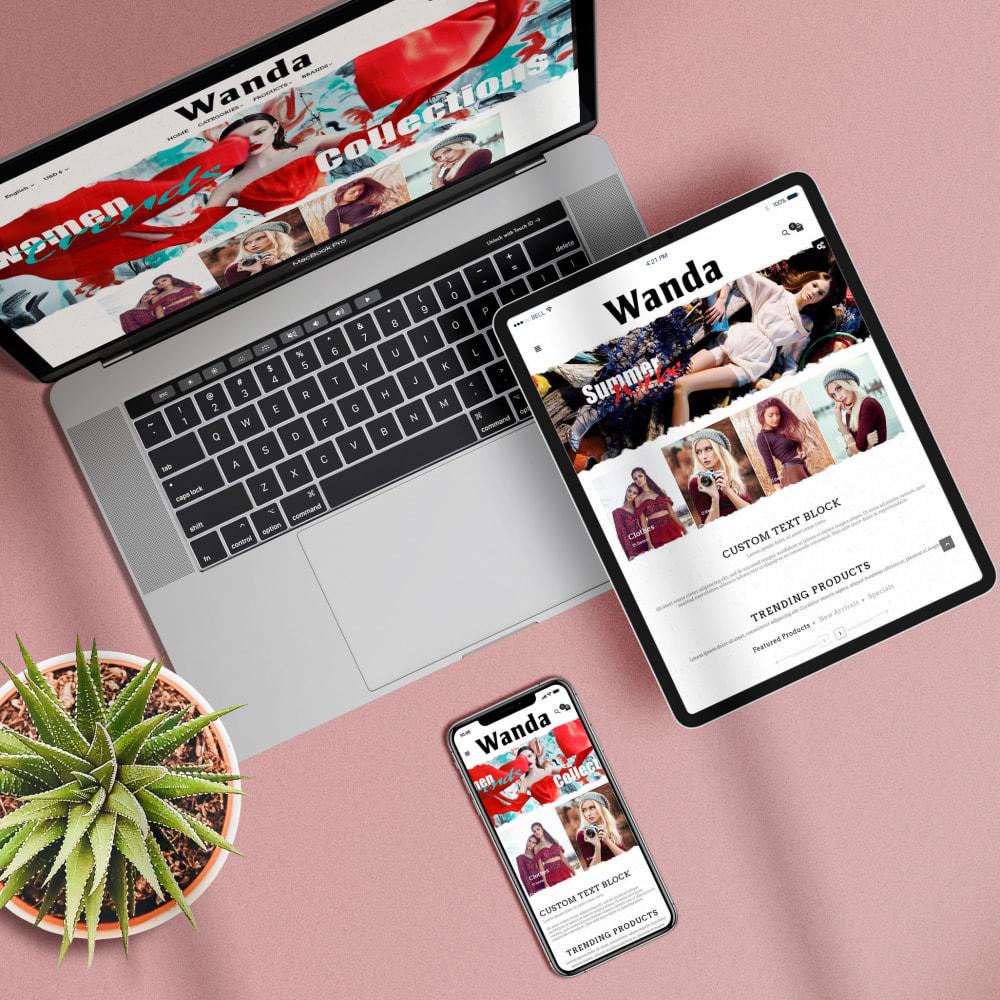 theme - Fashion & Shoes - Wanda Fashion Store - 2