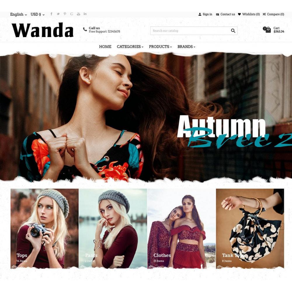 theme - Fashion & Shoes - Wanda Fashion Store - 4