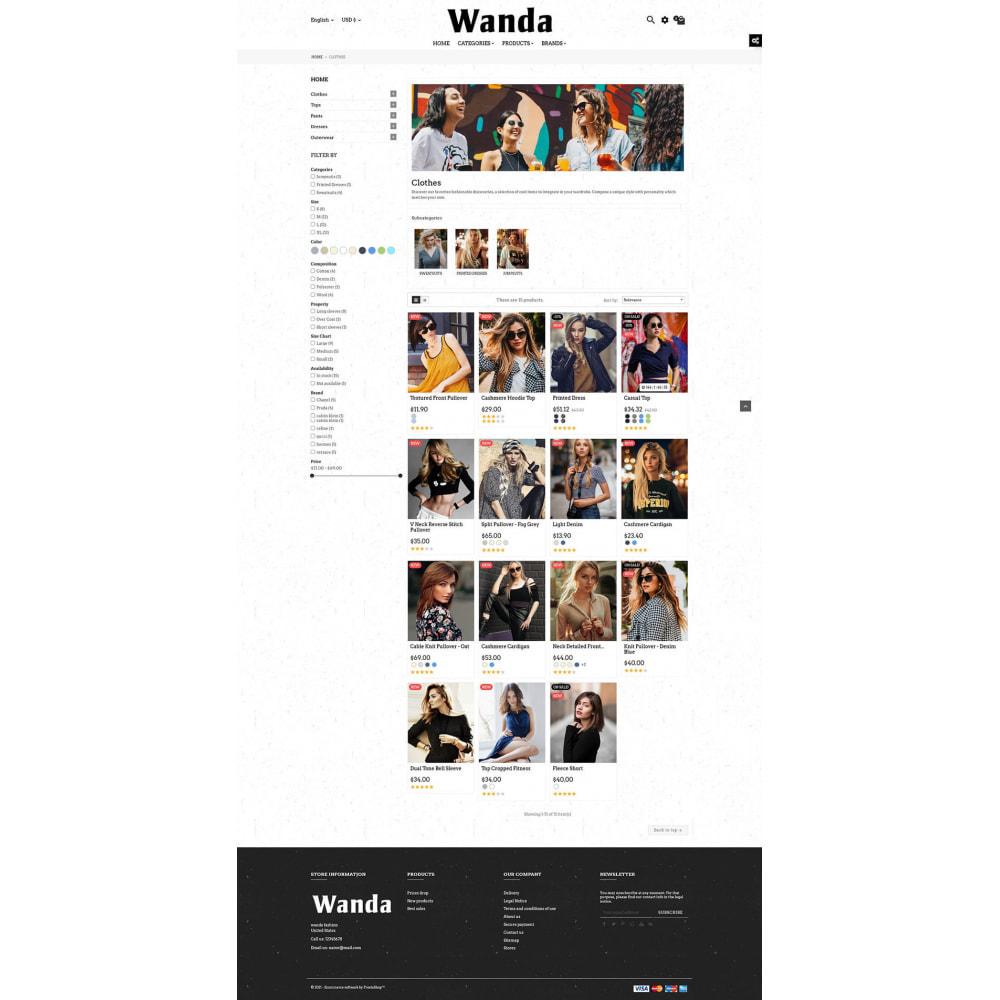 theme - Fashion & Shoes - Wanda Fashion Store - 7