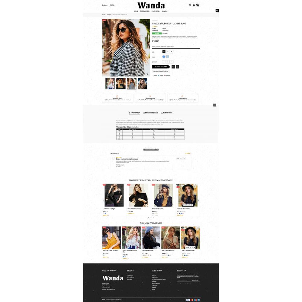 theme - Fashion & Shoes - Wanda Fashion Store - 8