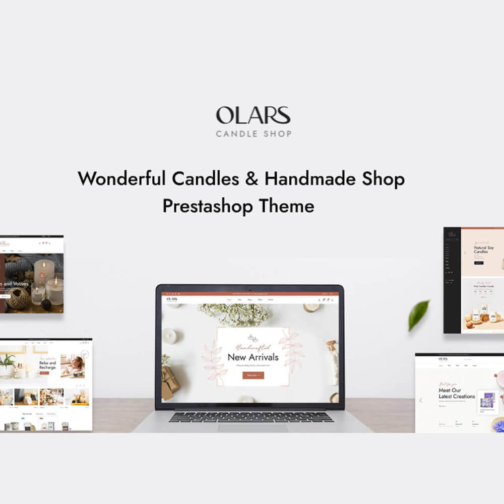 theme - Gifts, Flowers & Celebrations - Leo Olars - Candles And Handmade Shop - 1