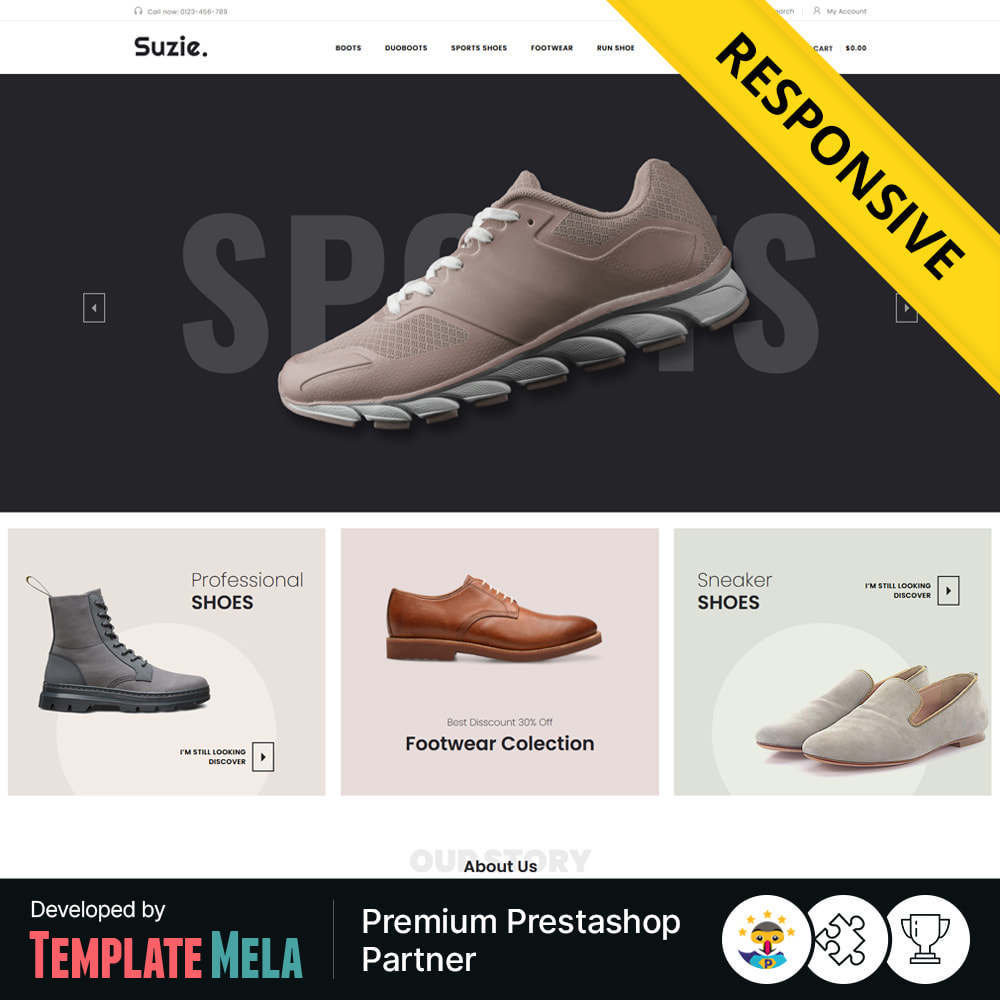theme - Moda y Calzado - Suzie - Fashion & Shoes Shop - 1