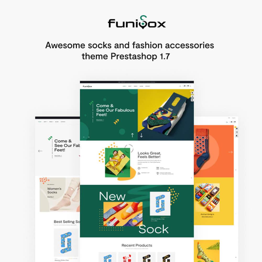 theme - Mode & Schuhe - Leo Funisox - Socks And Fashion - 1
