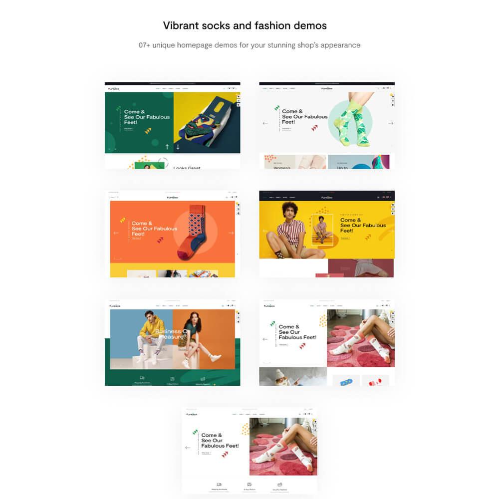 theme - Mode & Schuhe - Leo Funisox - Socks And Fashion - 2