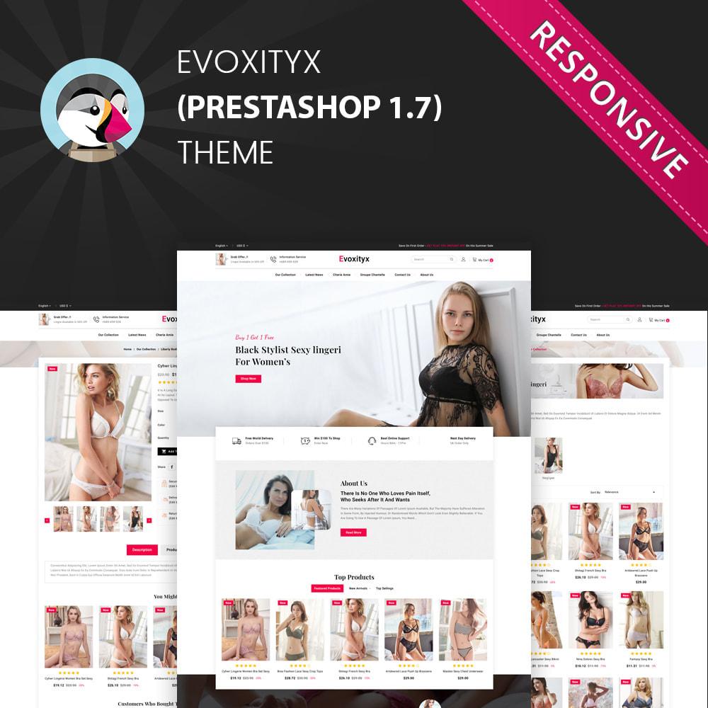 theme - Lingerie & Adult - Evoxityx - The Lingerie Store - 1