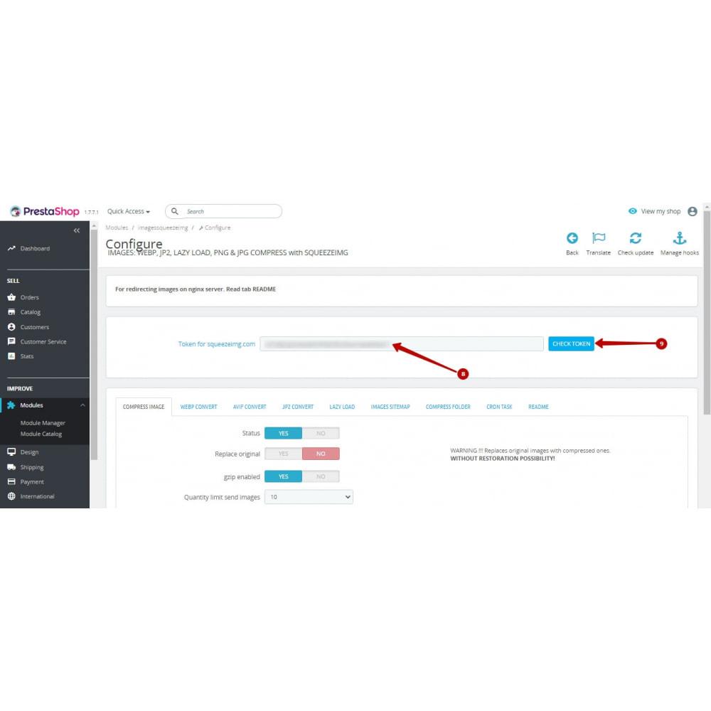 module - Visuels des produits - Image Compress with Squeezeimg + Convert to webp, jp2 - 8