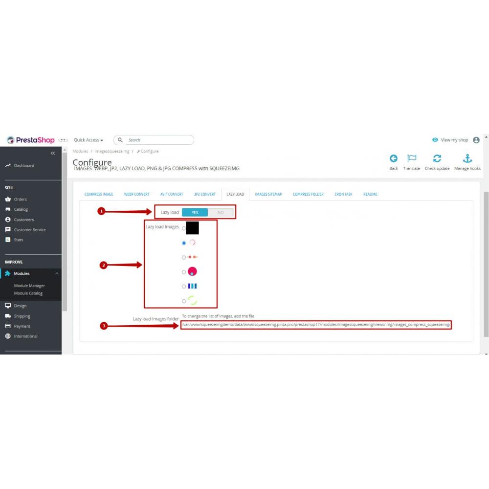 module - Visuels des produits - Image Compress with Squeezeimg + Convert to webp, jp2 - 15
