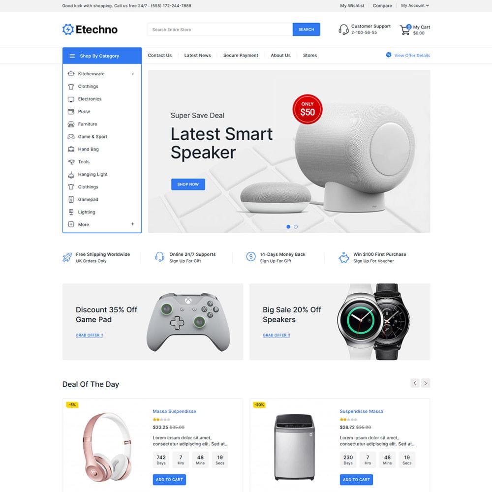 theme - Electrónica e High Tech - Etechno - Electronics Store - 2