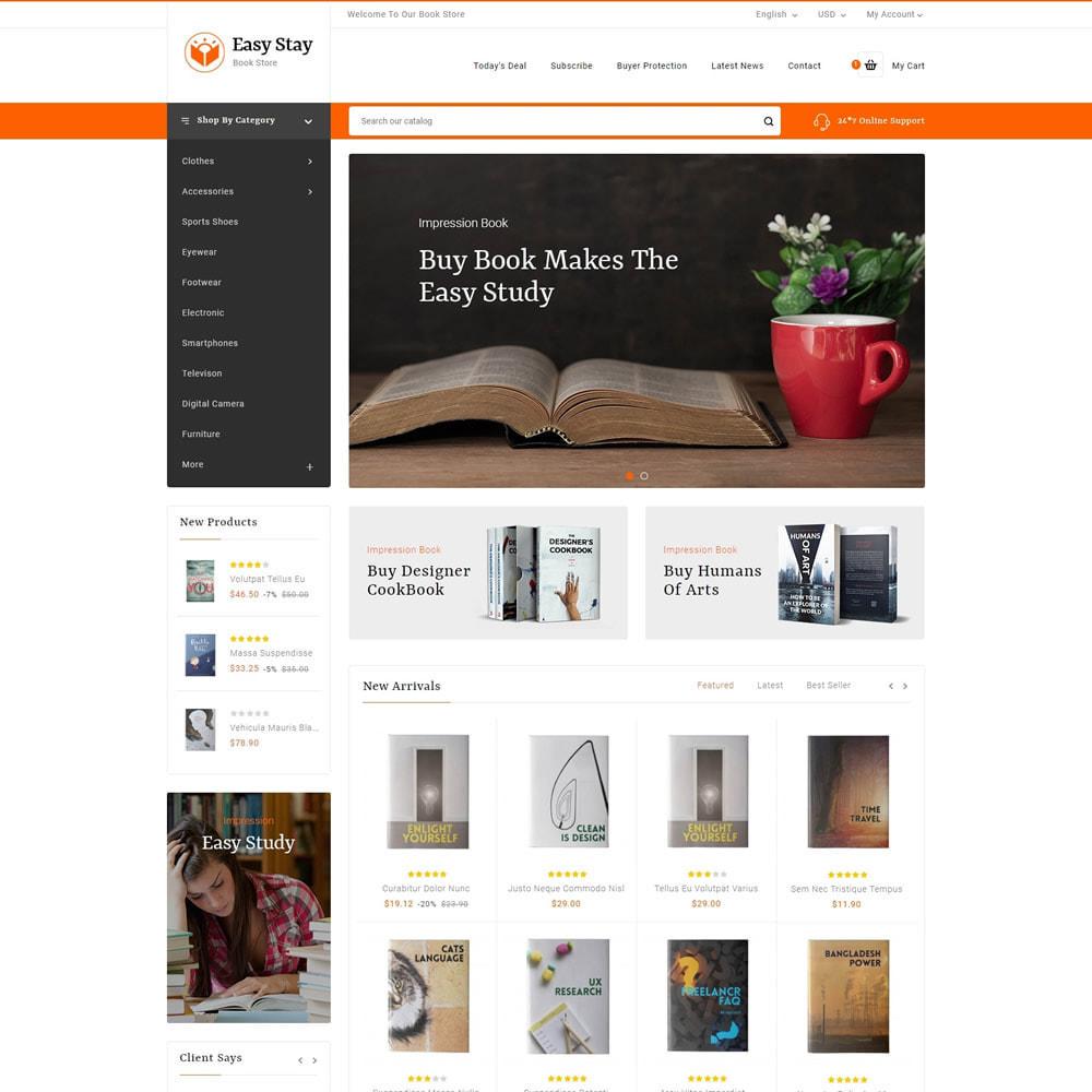 theme - Regalos, Flores y Celebraciones - Easy Stay - Books, Gifts & Flowers Shop - 2