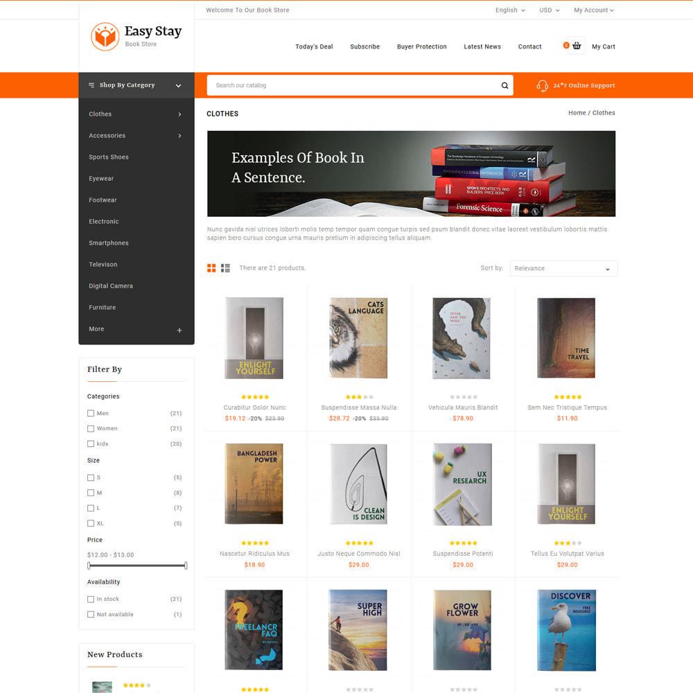 theme - Regalos, Flores y Celebraciones - Easy Stay - Books, Gifts & Flowers Shop - 3