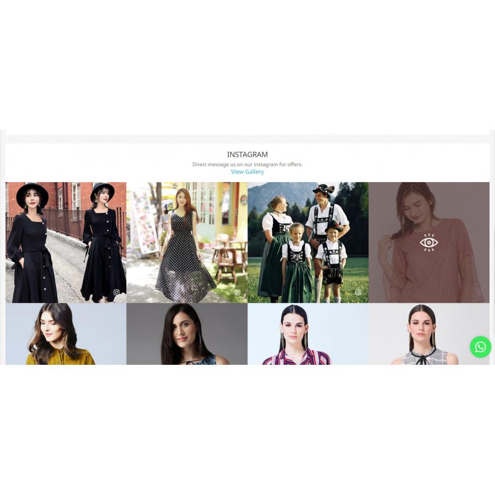module - Social Widget - Instagram Feed Slider & Carousel with NEW API - 5