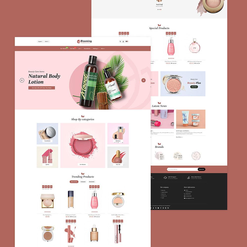 theme - Health & Beauty - Blooming Cosmetics & Skin Care - 2