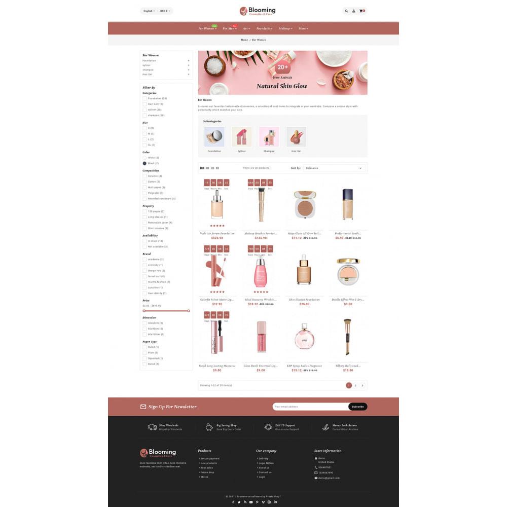 theme - Health & Beauty - Blooming Cosmetics & Skin Care - 15