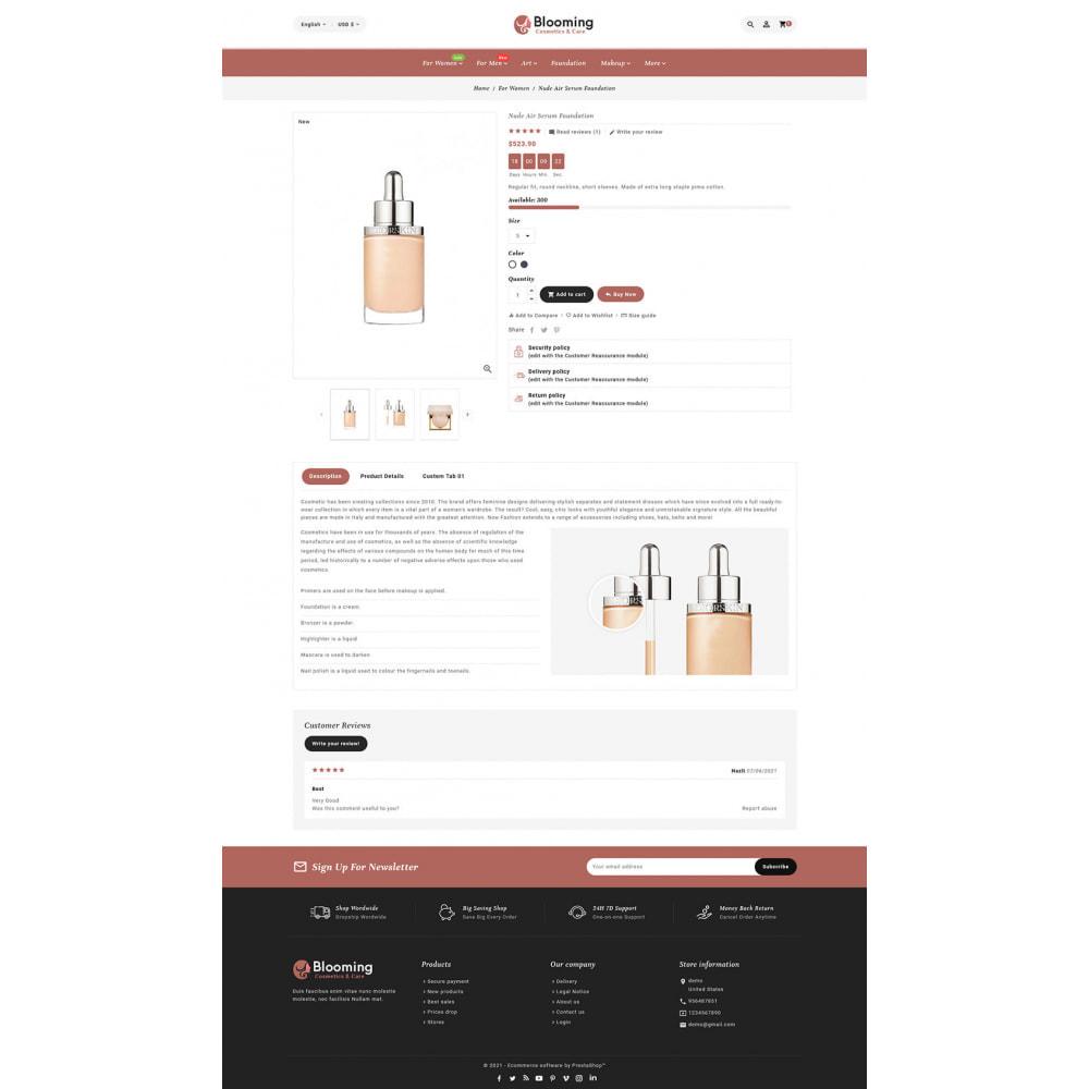 theme - Health & Beauty - Blooming Cosmetics & Skin Care - 20