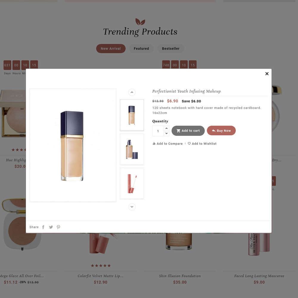 theme - Health & Beauty - Blooming Cosmetics & Skin Care - 23