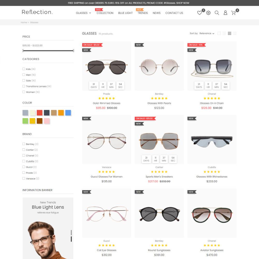 theme - Fashion & Shoes - Glasses - Fashion & Shoes, Jewelry, Clothes, Bags - 5