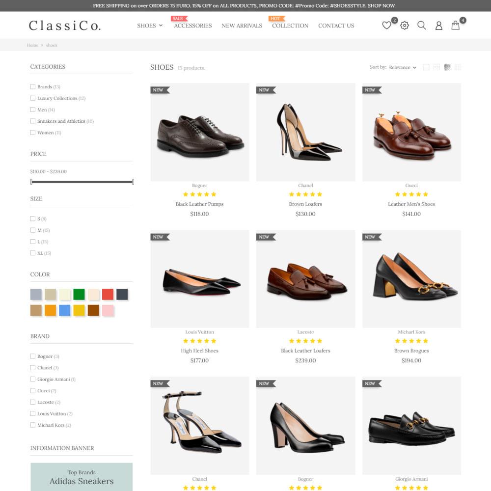 theme - Moda y Calzado - ClassiCo - Fashion & Shoes, Jewelry, Clothes, Bags - 5