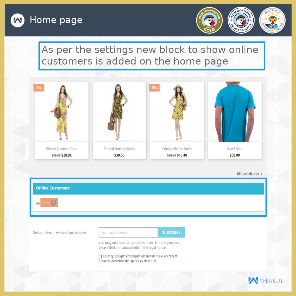 module - Analyses & Statistieken - Live Visitors Online - 1