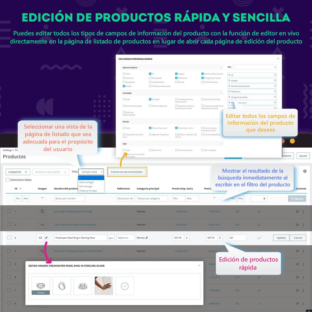 module - Edición Rápida y Masiva - Product Manager - Edición masiva / edición rápida - 2