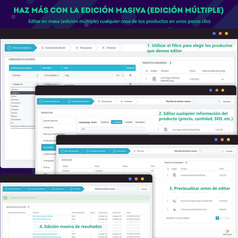 module - Edición Rápida y Masiva - Product Manager - Edición masiva / edición rápida - 3