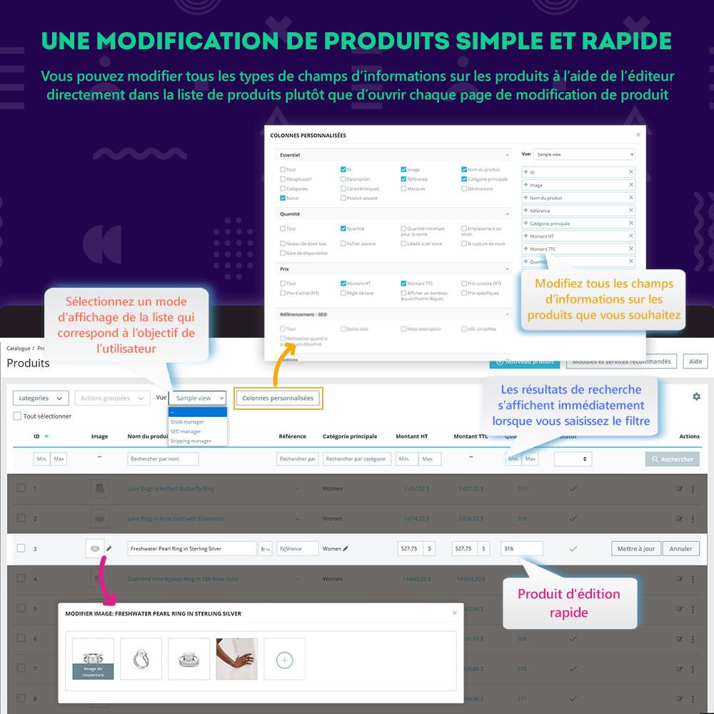 module - Edition rapide & Edition de masse - Product Manager : modification rapide ou de masse - 2