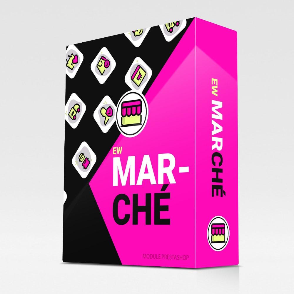 module - Création de Marketplace - EW Marché - 1