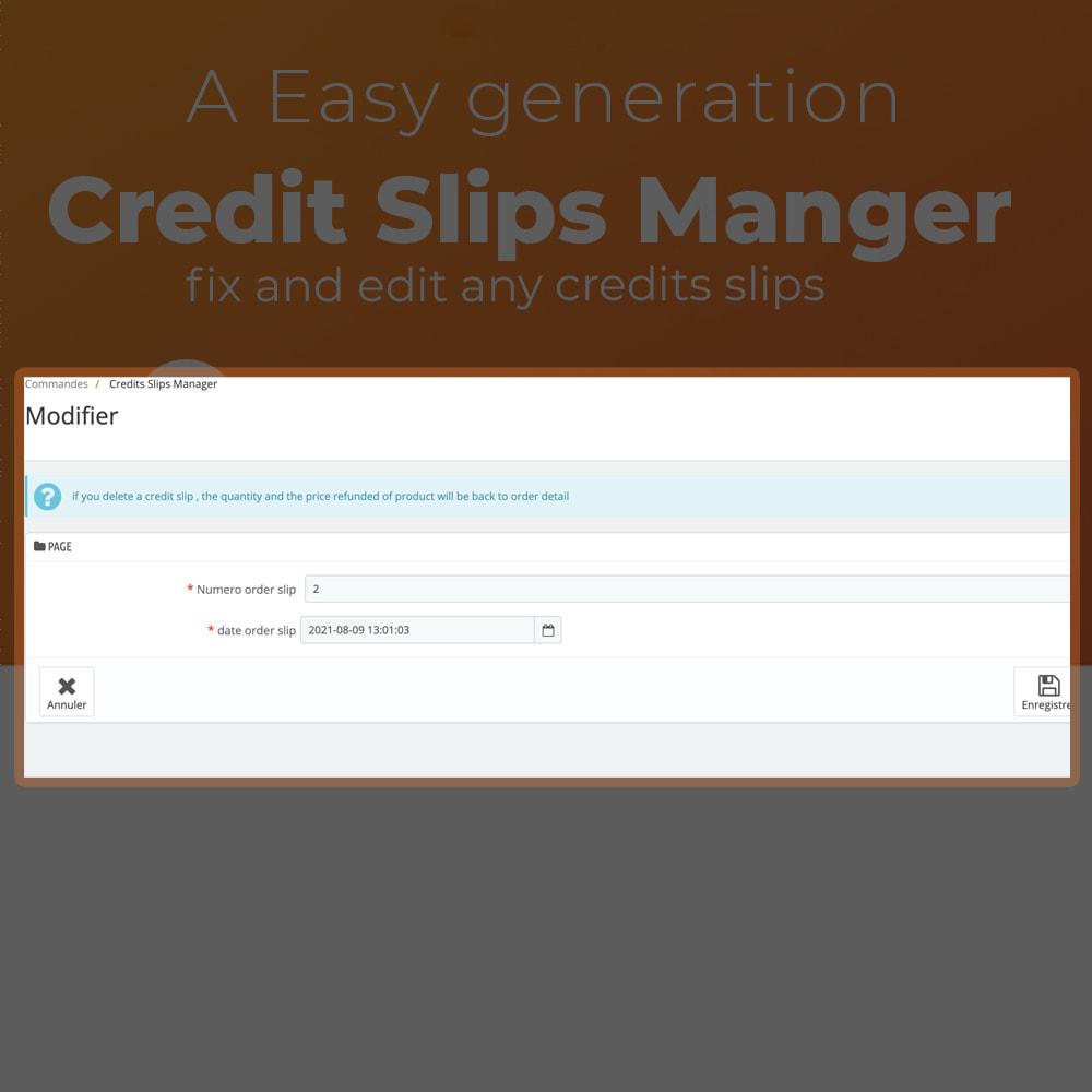 module - Customer Service - Credit Slips Manager - 2