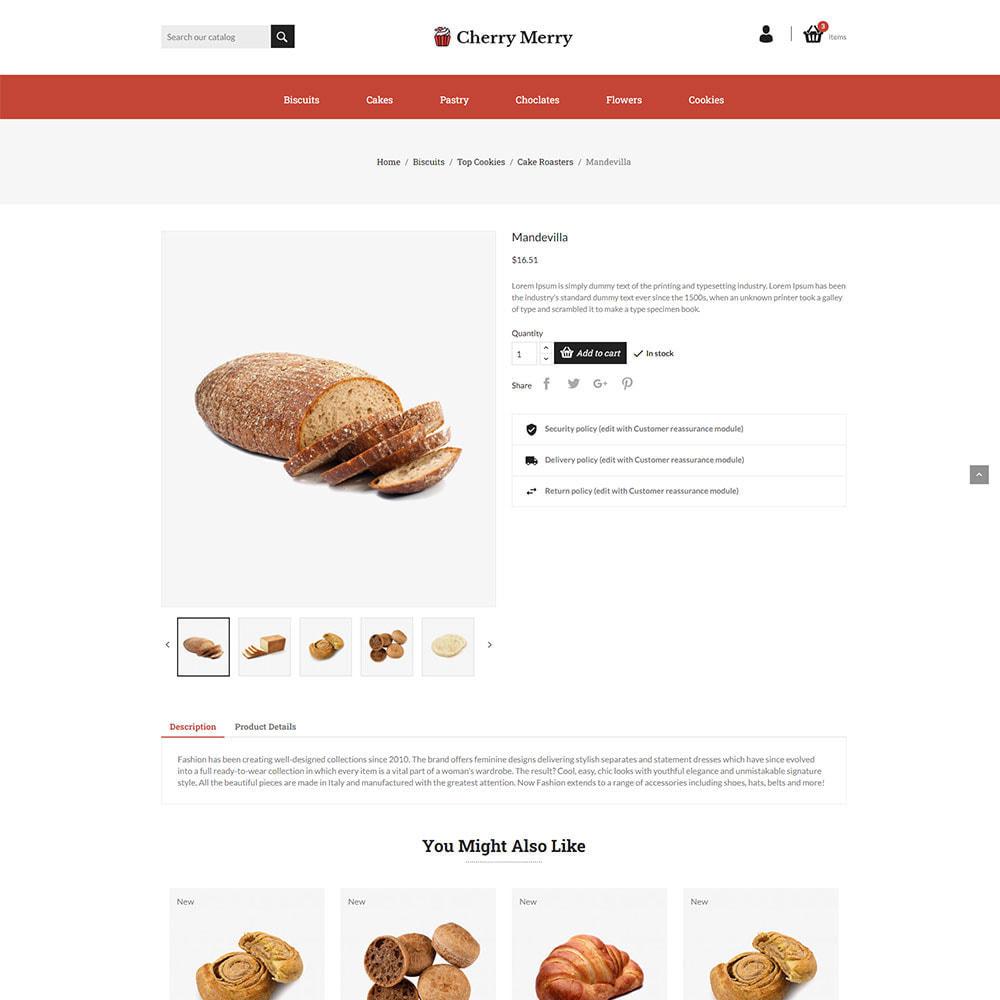 theme - Food & Restaurant - Cherry Merry Online Store - 4