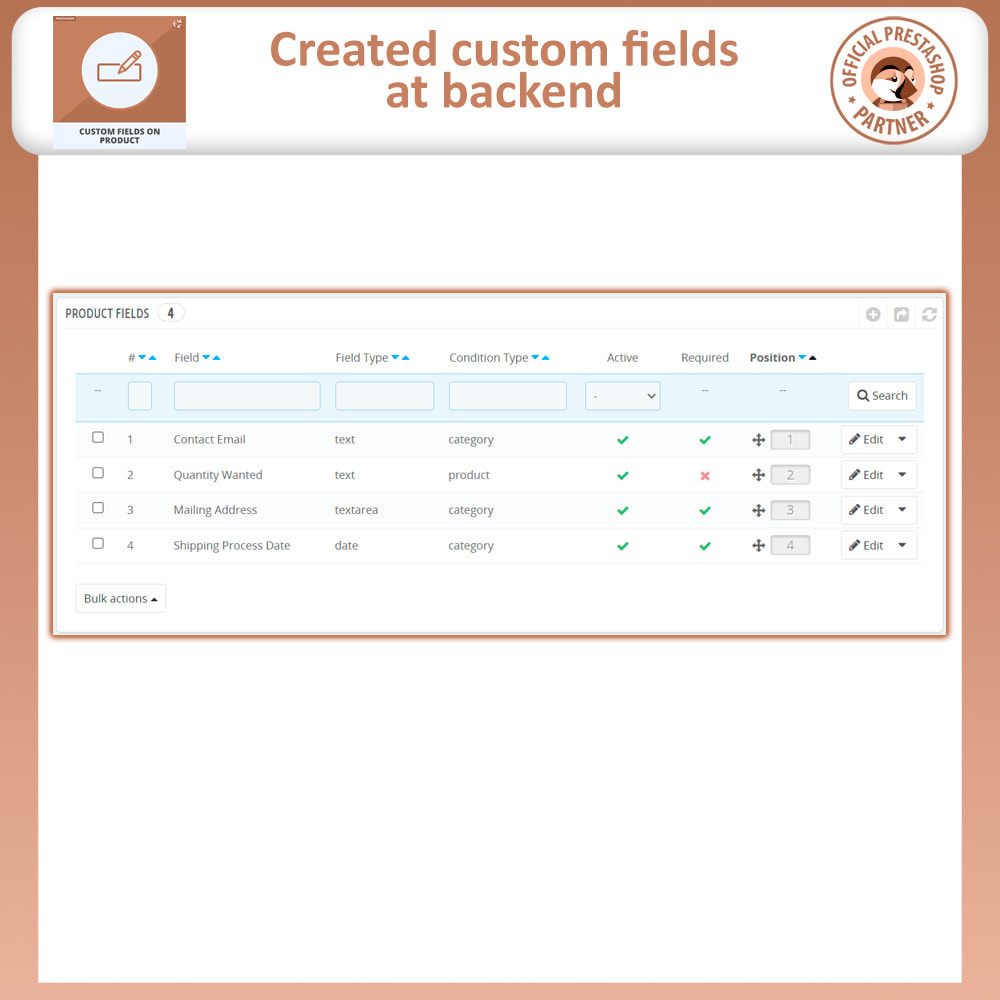 module - Information supplémentaire & Onglet produit - Add Custom Field to Product Page - 7